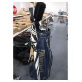 Spalding Golf Bag w/ clubs