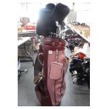 Golf Bag w/ Intech Clubs
