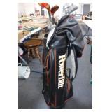 Power Bilt Golf Bag w/ Clubs