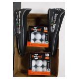 2 Big Bertha Club Covers & 36 Golf Balls