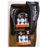 2 Big Bertha Club Covers & 36 Reload Golf Balls