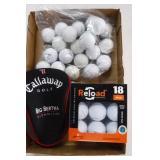 Big Bertha Club Cover & Golf Balls