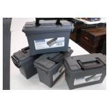4 Ammo Boxes