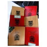 6 Cigar Boxes