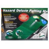 Hazard Deluxe Putting Mat (in box)