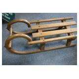 Wooden Deco. Sled