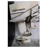 Vintage Johnson 9.9 h.p. Sea-Horse Outboard Engine