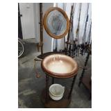 Wash Stand w/ Bowl & Pot