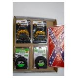 2 Tape Measures / 2 Head Lamps & Tag