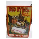 Red Ryder Bread Sign