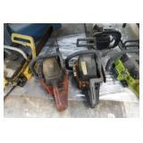 5 Chain Saws - Condition Unknown