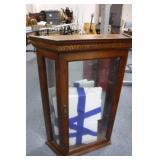 Curio Cabinet w/ Glass Shelves