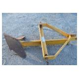3 Point King Cutter Middle Buster Plow