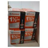 """4 Boxes of Ramset 1 1/2"""""""