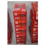 4-Boxes of Senco Galvanized 1 5/8 Trim Nails