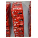 "4-Boxes of Senco Galvanized  1 1/2"" Trim Nails"