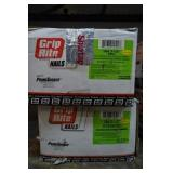 2-Boxes of Grip Rite Galvanized 16D Finish Nails