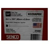 "3-Boxes of Senco 3 1/4"" Nails"