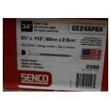 3-Boxes of Senco 2 3/8 Ring Shank Nails