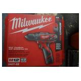 Milwaukee M12 Drill