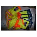 4 Safety Vest / 4 Neck Shades