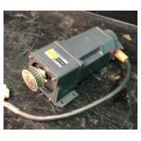 Vexta gear head motor KBLM46OGD-CM output 60w