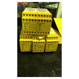 Lot of five wieland safety relays SNO2005-17