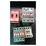 Lot of four safety power switches