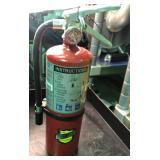 Lot of two buckeye 5 hi sa40 ABC extinguishers