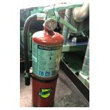 Lot of ten buckeye 5 hi sa40 ABC extinguishers