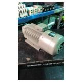 Fuji electric condenser motor 1 phase output 100w