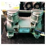Lot of two Airsep CO416-1 air compressor