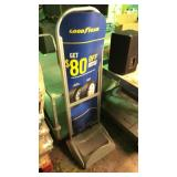 Goodyear tire holder