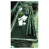 Patriots taxiway industry cases with tripods