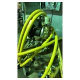 Warren ripped sandpiper diaphragm pump