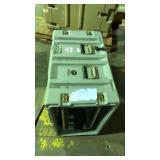 Hardigg gray utility case no bottom or top