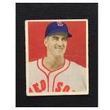 1949 Bowman Johnny Pesky Creased