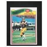 1977 Topps Dan Fouts #274