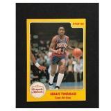 1985 Star Basketball Isiah Thomas Rc Card