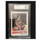 1977-78 Topps Moses Malone Bvg 5.5