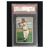 1951 Bowman Baseball Pete Reiser Psa 8