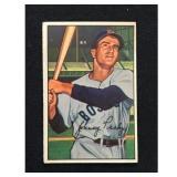 1952 Bowman Johnny Pesky Card