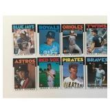 Over 1500 Estate Baseball Cards 1970