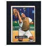 1951 Bowman Roy Campanella Card Low Grade