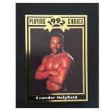 Evander Holyfield Boxing Rookie Card