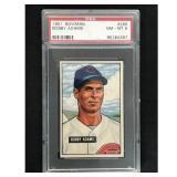 1951 Bowman Baseball Bobby Adams Psa 8