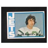 1972 Topps Joe Namath #100