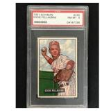 1951 Bowman Baseball Eddie Pellagrini Psa 8