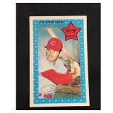 1971 Topps 3d Pete Rose Card
