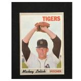 1970 Topps Baseball High Number Mickey Lolich